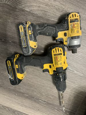 Dewalt drill and impact driver for Sale in Clearwater, FL