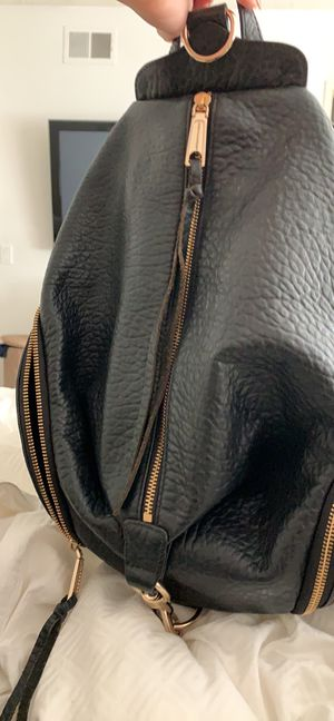 Rebecca Minkoff - Black Julian Backpack with gold hardware for Sale in Huntington Beach, CA