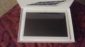 New white 10.1 in tablet does everything for Sale in Owatonna, MN