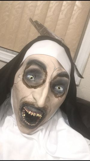 2018 THE NUN extremely lifelike Halloween mask $40 LAST ONE! for Sale in Hialeah, FL