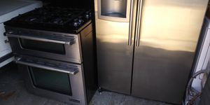 Stainless steel Jenn-Air stove LG refrigerator for Sale in St. Louis, MO