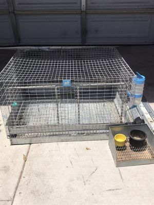 Rabbit cage w/ supplies for Sale in San Diego, CA