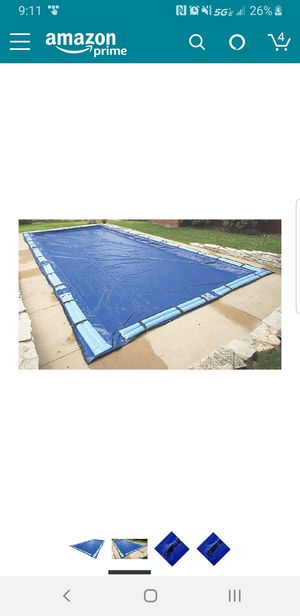 Blue Wave Gold 15-Year 25-ft x 45-ft Rectangular In Ground Pool Winter Cover for Sale in Columbus, OH