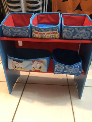 Mickey Mouse toy organizer for Sale in Tempe, AZ