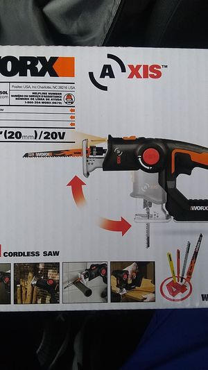 Worx 2 in 1 cordless saw for Sale in Baltimore, MD