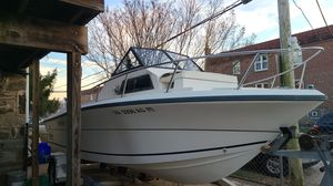 204 angler 1993 need motor 155 evinrude boat in good shape for Sale in Philadelphia, PA