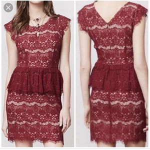 Anthropologie Maeve Elsa peplum dress size M for Sale in Lawndale, CA