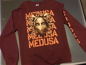 Crooks & Castle Medusa Crewneck Sweatshirt size Medium supreme bape for Sale in Dallas, TX