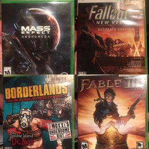 Video Games for Xbox One • 360 • Fallout • Borderlands • Fable • Batman for Sale in Washington, DC