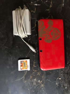 3DS XL with charger and Pokémon Ultra Sun for Sale in Richmond, VA