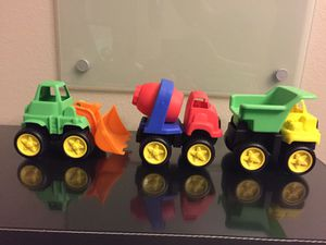 Toy Construction Vehicles (3) for Sale in Austin, TX