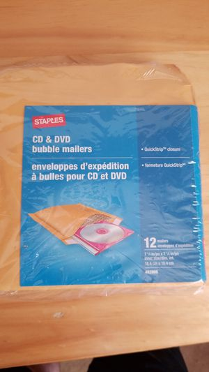 CD/DVD bubble mailers for Sale in Tracy, CA