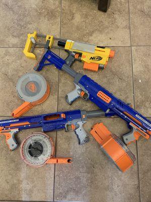 Lot of Nerf guns for Sale in Las Vegas, NV