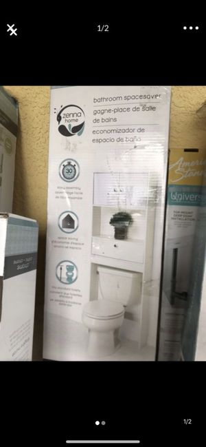 Brand new over toilet space saver for Sale in Plant City, FL