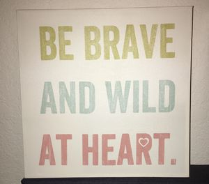 Positive Quote Color Wall Home Decor Square Green Blue Pink for Sale in San Antonio, TX