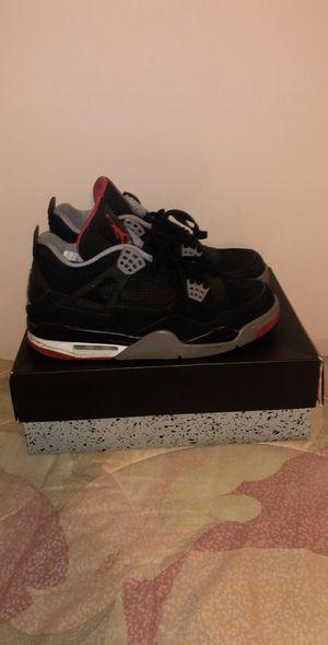Jordan 4 Retro Black Cement 2012 Size 10 for Sale in UPR MARLBORO, MD