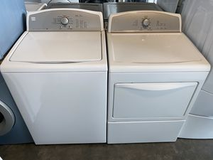KENMORE XL CAPACITY TOP LOADING WASHER DRYER ELECTRIC for Sale in Vancouver, WA