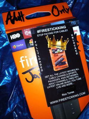 Fire TV Stick MEGA19 FULLY-LOADED for Sale in Houston, TX