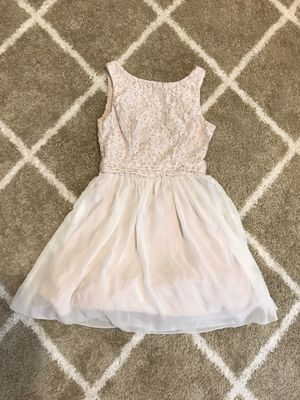 Off-white short homecoming/prom dress for Sale in Concord, CA