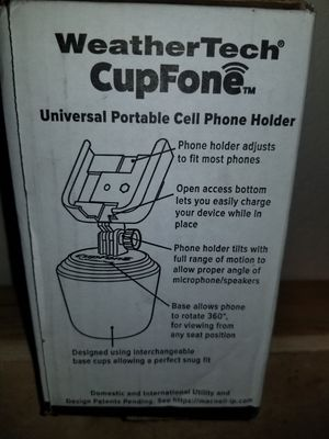 Weather tech CupFone phone holder for Sale in Citrus Heights, CA