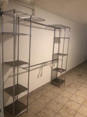 Metal closet organizer $75 for Sale in Detroit, MI