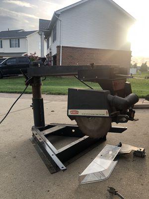 Craftsman Radial Arm Saw. for Sale in Flat Rock, MI