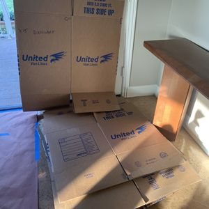 Free Moving Boxes and Packing Paper for Sale in Rancho Cucamonga, CA