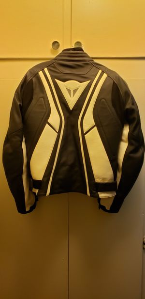 Dainese motorcycle leather jacket M for Sale in Pasadena, CA