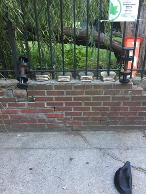 Used dumbbells for Sale in Brooklyn, NY