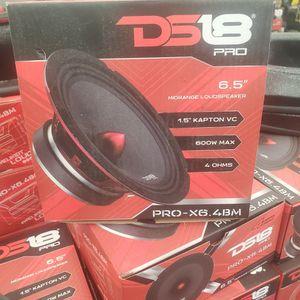 ds18 6.5 midrange speaker for Sale in Dallas, TX