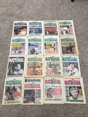 Lot of National Sports Daily Newspaper 16 issues for Sale in Torrance, CA