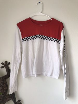 checkered vans long sleeve for Sale in Los Angeles, CA