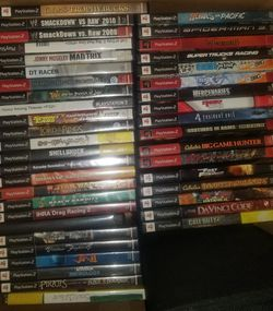 Ps2 games $8 each. Shipping in packs of 4+ only for Sale in Charlottesville,  VA