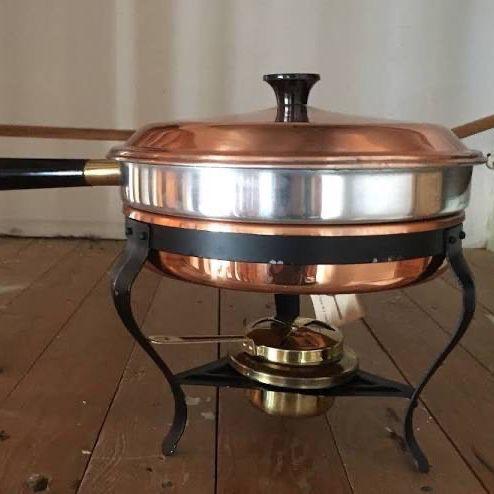 Copper ware Chafing Dish Brand New