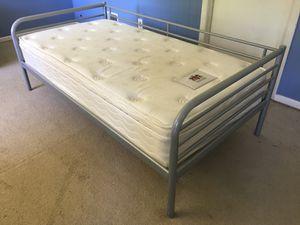 IKEA twin bed & Luxury mattress for Sale in Rockville, MD