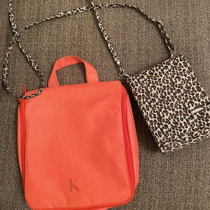 Travel Small Bag With Cosmetic Bag for Sale in Miami, FL