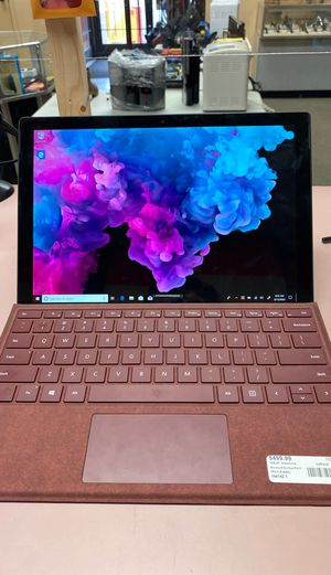 Microsoft surface pro 6 for Sale in Charlotte, NC