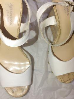 White Wedges Size 7 heels brand Arizona from Jecypenny for Sale in Phoenix,  AZ