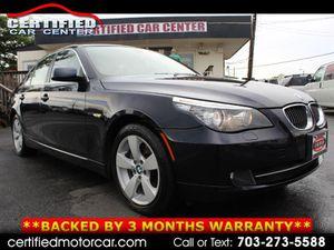 2008 BMW 5 Series for Sale in Fairfax, VA