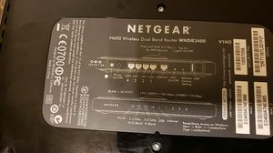 NETGEAR Router WNDR3400 for Sale in Wichita Falls, TX