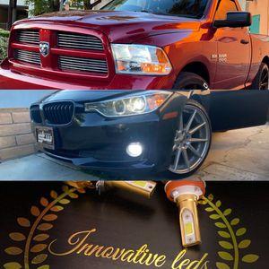 Car led headlights kit leds kits are super bright lights H1 H7 H8 H9 H10 H11 9003 9005 9006 9007 H13 880 9145 9140 5202 for Sale in Highland, CA
