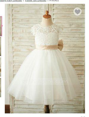 flower baby girl dress - worn for 30 min for Sale in Garden Grove, CA