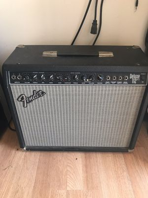 Fender Deluxe 112 for Sale in Orcutt, CA