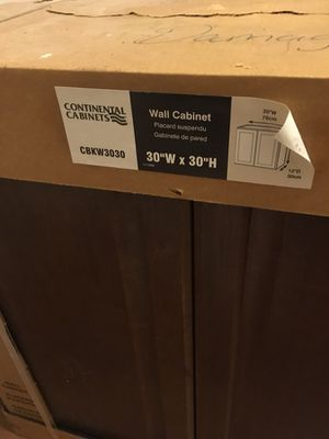 Brown Top kitchen cabinets new in box for Sale in Del Valle, TX