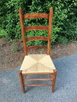 Antique Ladder back chair for Sale in Sudbury, MA