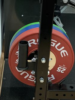 Rogue Fitness Bar Holder & Curl Bar for Sale in Tacoma,  WA