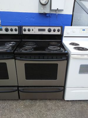 Stainless steel Hotpoint coil top stove for Sale in Tampa, FL