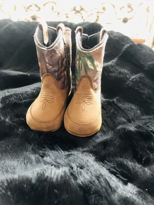 Cowboy baby boots size 4 brand new for Sale in Buffalo, NY