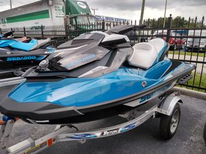 2019 Sea-Doo GTI 155 with Wake board package for Sale in Kissimmee, FL