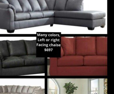 --/---Brand new--/--- Ashley sectional --/---